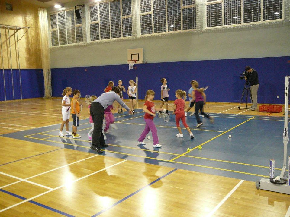 V Lendavi v petek potekal festival badmintona